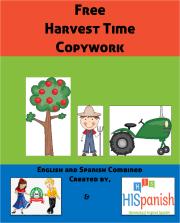 Harvest Time Copywork