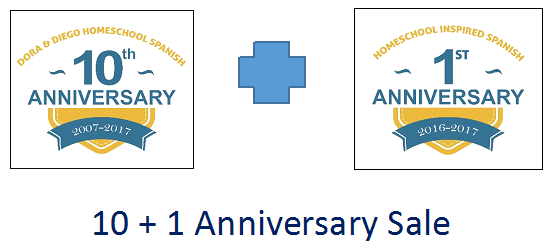 10 Plus 1 Anniversary Sale logo